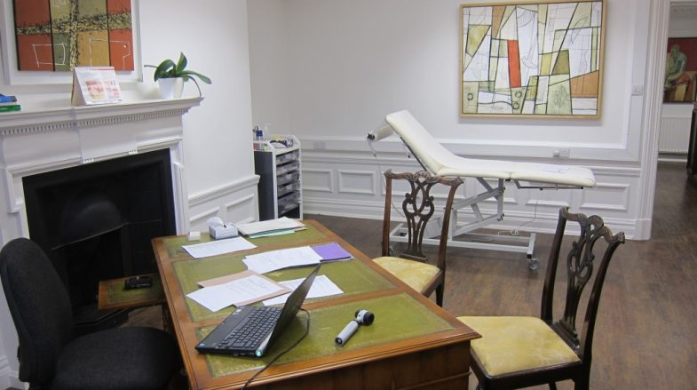 London Skin and Hair Clinic Consulting Room 1