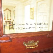 London Skin and Hair Clinic Entrance