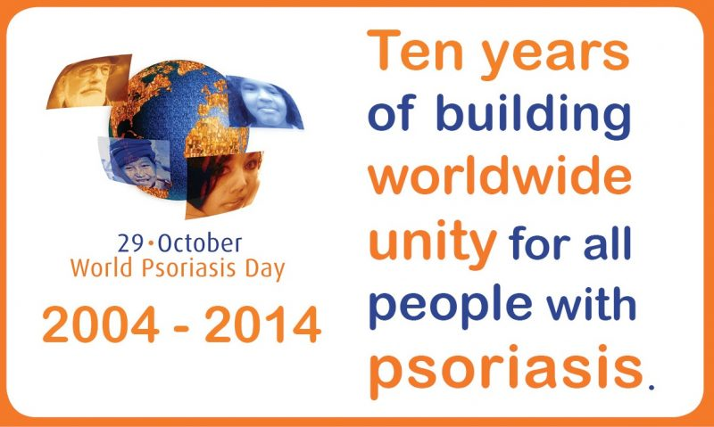 World Psoriasis Day 10 years